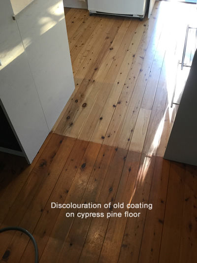 Floor Sanding Discolouration